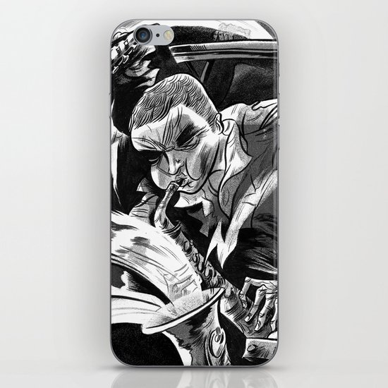 """Milkbread"" band poster iPhone & iPod Skin"