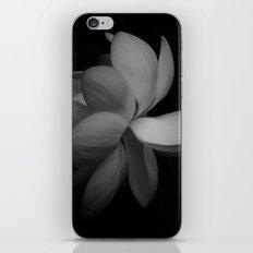 Black & While Lotus iPhone & iPod Skin