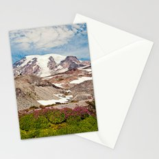Mount Rainier Hike Stationery Cards
