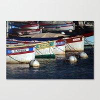 Boats pointu (6972) Canvas Print