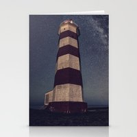 Lighthouse in the Sky Stationery Cards