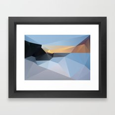 Sunrise Tamarama 2013 Framed Art Print