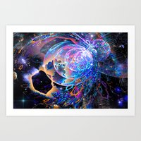 Transitory Cosmos Art Print