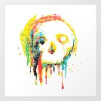 Happy/Grim Art Print