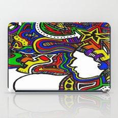 Rainbow Techno iPad Case