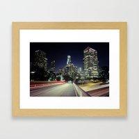 Black River, Your City L… Framed Art Print