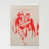 superman Stationery Cards featuring Superman by jfaiscquejveux