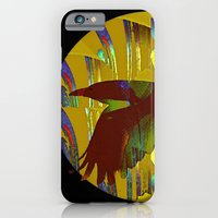iPhone & iPod Case featuring The rook and the moon by Anna Brunk