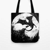 Midnight Desolation Tote Bag