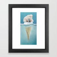 Polar Ice Cream Cap 02 Framed Art Print