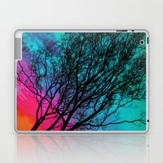 Behind The ol' Crape Myrtle Laptop & iPad Skin