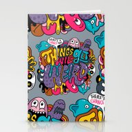 Things Might Get Weird Stationery Cards