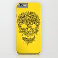 Yellow Skull iPhone 6 Slim Case