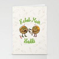 Kebab Mein Haddi Stationery Cards