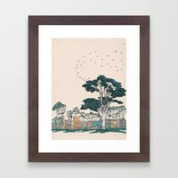 The Panhandle, San Francisco Framed Art Print
