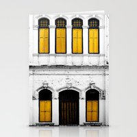 Open Thy Yellow Windows Stationery Cards