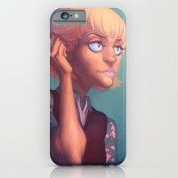 iPhone & iPod Case featuring Armin headcanon by Dumonchelle Draws