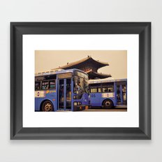 Dongdaemun Gate I Framed Art Print