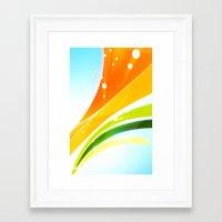 Pattern Colori 1 Framed Art Print