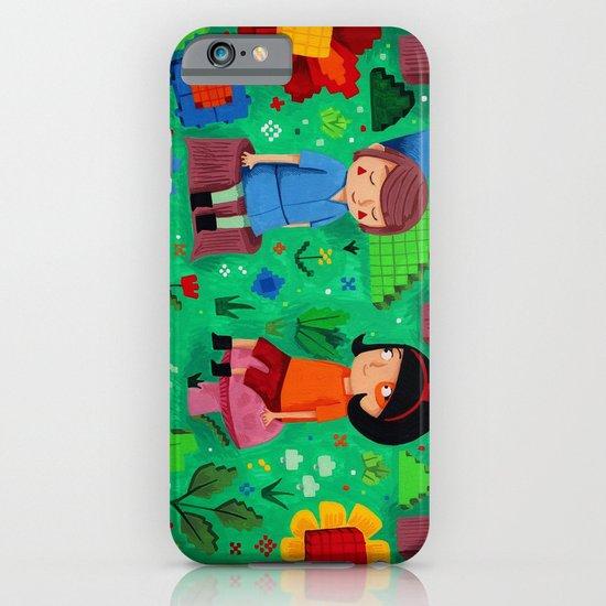 Pixel Garden iPhone & iPod Case
