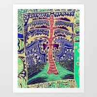 Jardin 5 Art Print