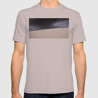 Dunes in Fuerteventura Mens Fitted Tee Cinder SMALL