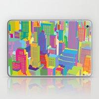 Cityscape windows Laptop & iPad Skin