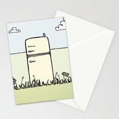 Retro Spring Stationery Cards
