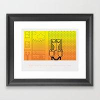 Natural Born Rodent Killers (Pt. 3) Framed Art Print