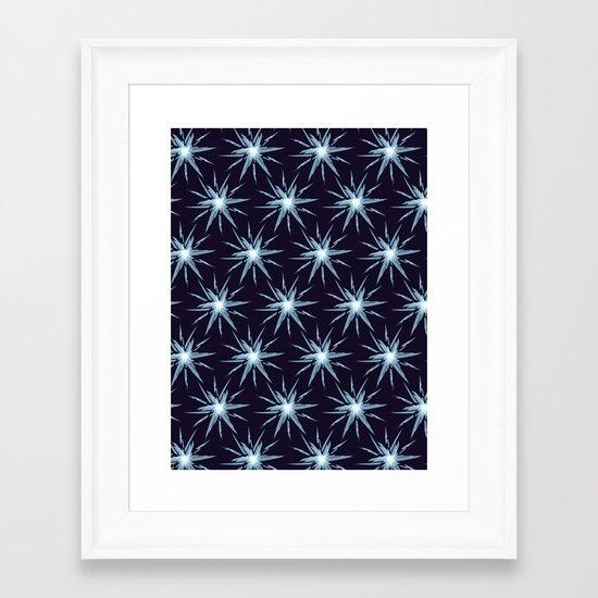 Christmas Card - Snowflake 3 Framed Art Print