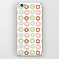 Donuts For Breakfast! iPhone & iPod Skin