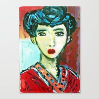 LADY MATISSE IN TEEN YEARS Canvas Print