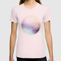 Dwell V1 Womens Fitted Tee Light Pink SMALL