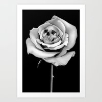 Beauty & Death Art Print