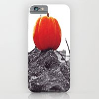 iPhone & iPod Case featuring Simple pumpkin by Vorona Photography