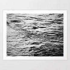 Ripling Water Art Print