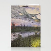 Reversible Landscape Stationery Cards
