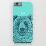 I Like You (Bear) iPhone 6 Slim Case