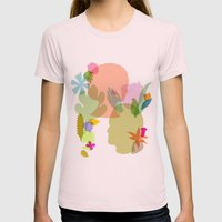 Botany Womens Fitted Tee Light Pink SMALL