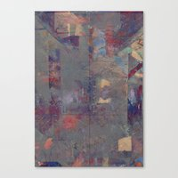 Sextet (disquiet One) Canvas Print
