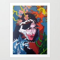The Sultrine Sinister Art Print