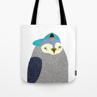 Penguin Dude, penguin art, penguin illustration, penguin, penguin print,  Tote Bag
