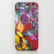Roses garden iPhone 6s Slim Case