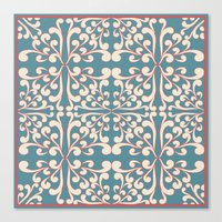 Indian Decorative design Canvas Print