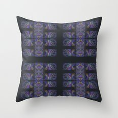 The Calligraphers Madness III Throw Pillow