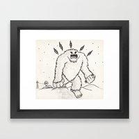 Monster Framed Art Print