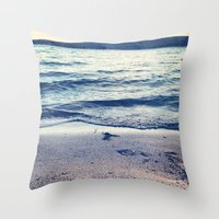 Beach Feeling Throw Pillow