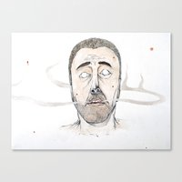 Sickly Fellow Canvas Print