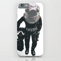 iPhone & iPod Case featuring Scuba Diver by Jentfah