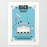 Robo02 Art Print